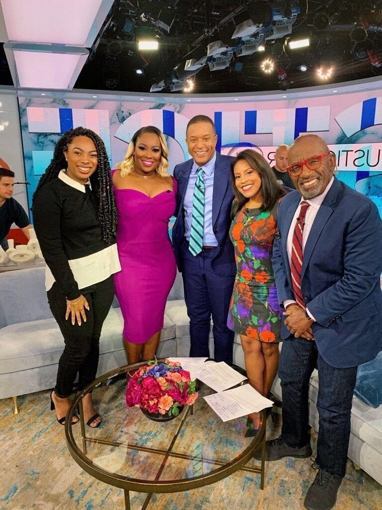 Topeka K. Sam and motivational speaker Riley speak on the 3rd hour of the TODAY show with Al Roker, Craig Melvin, and Sheinelle Jones.